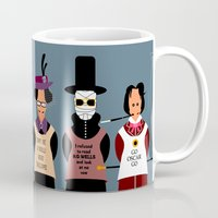 literature Mugs featuring Victorian Literature - Stevenson by Natallia Pavaliayeva