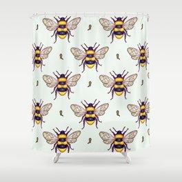 honey guards Shower Curtain