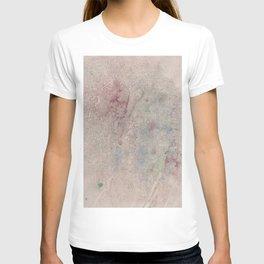 Informal texture T-shirt