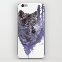 Wolf Forest Guardian iPhone Skin