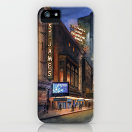 St. James Frozen Marquee iPhone Case