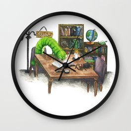 Little Worlds: The Library Wall Clock