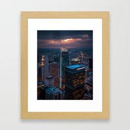 Sky Space Framed Art Print