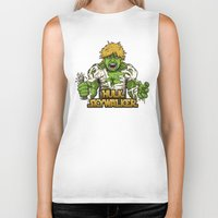 luke hemmings Biker Tanks featuring Angry Luke by le.duc