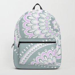 Mandala Pink by Hayley Lauren Design Backpack