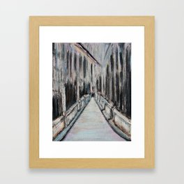 Paris Noir Framed Art Print