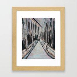 Paris Noir Framed Art Print