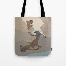 Cave Sea Nymphs Study Tote Bag