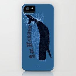 Sag Harbor Whale iPhone Case