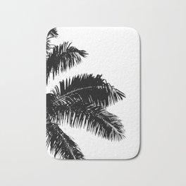 Minimal Palm Print Bath Mat