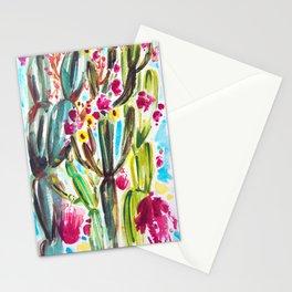 Café Cactus Stationery Cards