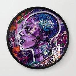 Black Is Love Wall Clock