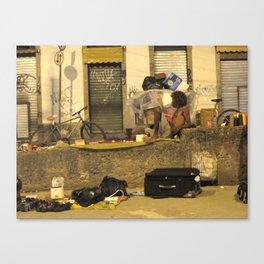 Lapa Wall (Rio de Janeiro, Brazil)   Canvas Print