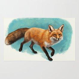 Fox walk Rug