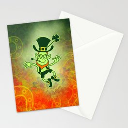 Leprechaun Clapping Feet Stationery Cards