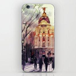 Madrid iPhone Skin