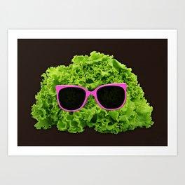 Mr Salad Art Print