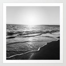 BEACH DAYS XIV Art Print