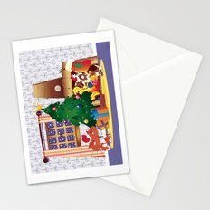 Merry Christmas Cat and Dog Stationery Cards