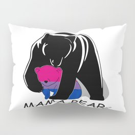 Mama Bear Bisexual Pillow Sham