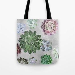Simple succulents Tote Bag