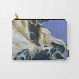 A Dog's Paws Portrait Carry-All Pouch