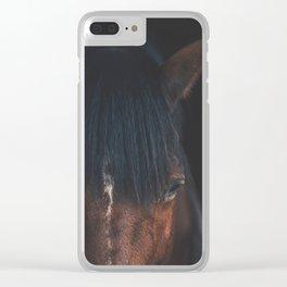 Horse - Cheyenne Clear iPhone Case