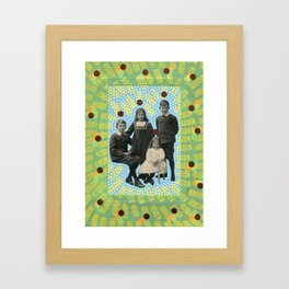 Kids From The Future Framed Art Print
