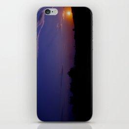 Amazing sunset iPhone Skin