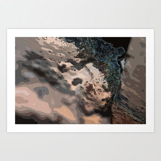 The 'Crete Art Print