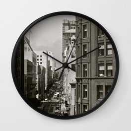 Urban Synthesis Wall Clock