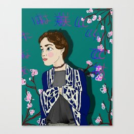 You are Beautiful: Lauren Canvas Print