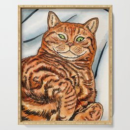 Ginger Cat Serving Tray