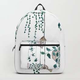hanging plant in seashell Backpack