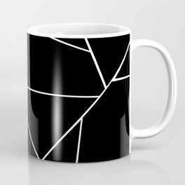 Black White Geometric Glam #3 #geo #decor #art #society6 Coffee Mug