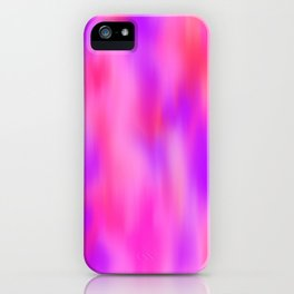 Bursts of Pink iPhone Case