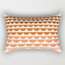 Boogy - retro 70s vibes sunset ocean water desert socal california travel retro minimal Rectangular Pillow