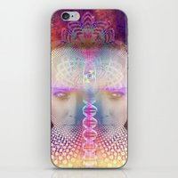 dna iPhone & iPod Skins featuring DNA by AC DESIGNS