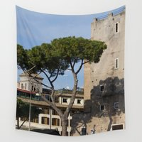 italy Wall Tapestries featuring Italy by Leandra