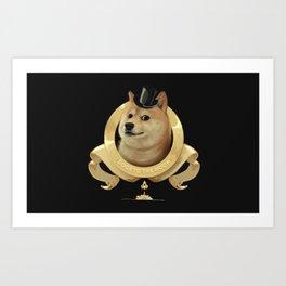 Dogecoin Art Print