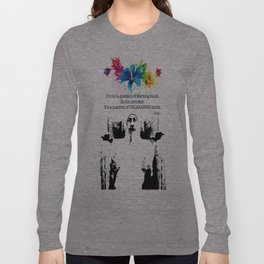 """""""Unlearn Everything"""" Long Sleeve T-shirt"""
