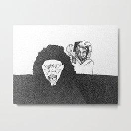cray Metal Print