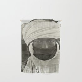 'African pride' - Mohamed from Timbuktu Wall Hanging