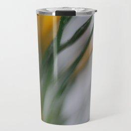 yellow crocus in spring Travel Mug