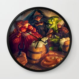 Once Upon a Time in The Tavern Wall Clock