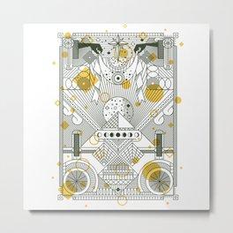 Moon's Arrival Metal Print
