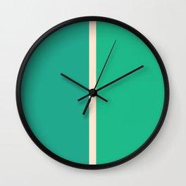 Half a Jade Wall Clock