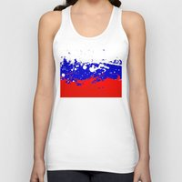 russia Tank Tops featuring into the sky, Russia by seb mcnulty