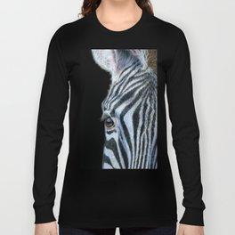 Zebra Detail Long Sleeve T-shirt