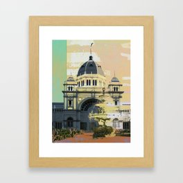 Exhibition Building Framed Art Print